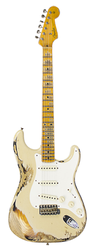 GUITARRA FENDER 57 STRATOCASTER HEAVY RELIC LTD EDITION -923-1009-546 DESERT SANDER OVER 2-TSB