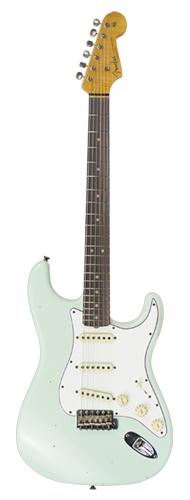GUITARRA FENDER 64 STRATOCASTER JOURNEYMAN RELIC LTD EDITION 923-5000-712 S.F.AGED S.GREEN