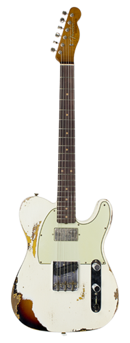 GUITARRA FENDER TELECASTER REVERSE CUSTOM HS HEAVY RELIC 2018 COLLECTION 923-5000-557 AOWT3TS