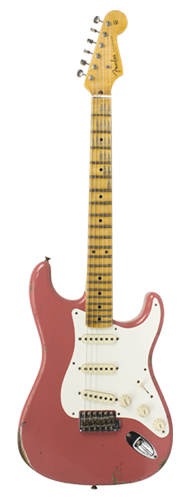 GUITARRA FENDER 58 STRATOCASTER RELIC LTD EDITION 923-5000-683 SUPER FADED AGED FIESTA RED