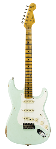 GUITARRA FENDER 58 STRATOCASTER RELIC LTD EDITION 923-5000-684 SUPER FADED AGED SURF GREEN