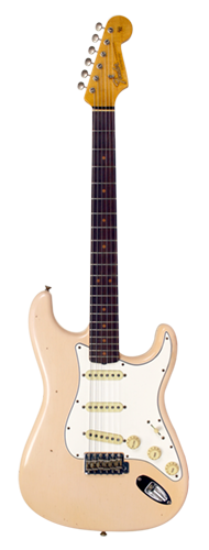 GUITARRA FENDER 64 STRATOCASTER JOURNEYMAN RELIC LTD EDITION 923-5000-716 S.F.AGED SHELL PINK