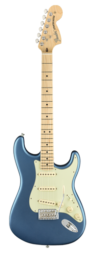 GUITARRA FENDER 011 4912 - AM PERFORMER STRATOCASTER MN - 302 - SATIN LAKE PLACID BLUE