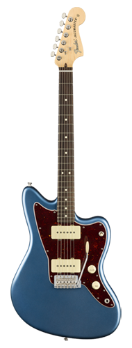 GUITARRA FENDER 011 5210 - AM PERFORMER JAZZMASTER RW - 302 - SATIN LAKE PLACID BLUE