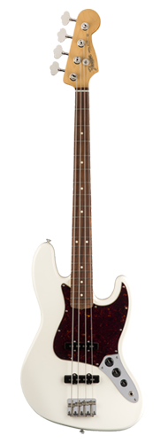 CONTRABAIXO FENDER 60S JAZZ BASS PF 013-1803-305 OLYMPIC WHITE