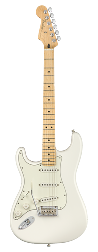 GUITARRA FENDER PLAYER STRATOCASTER LH MN 014-4512-515 POLAR WHITE
