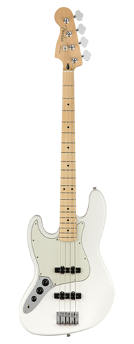 CONTRABAIXO FENDER PLAYER JAZZ BASS LH MN 014-9922-515 POLAR WHITE