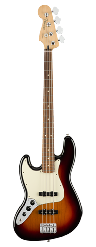 CONTRABAIXO FENDER PLAYER JAZZ BASS LH PF 014-9923-500 3-COLOR SUNBURST