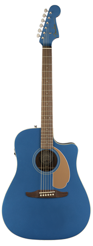 VIOL�O FENDER REDONDO PLAYER 097-0713-010 BELMONT BLUE
