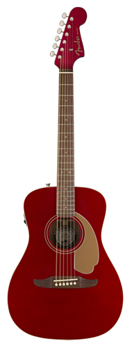 VIOL�O FENDER MALIBU PLAYER 097-0722-009 CANDY APPLE RED