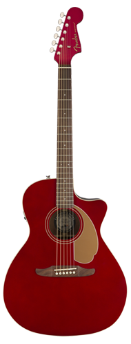 VIOLÃO FENDER NEWPORTER PLAYER 097-0743-009 CANDY APPLE RED