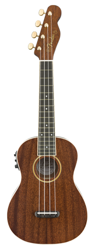 UKULELE FENDER GRACE VANDERWAAL SIGNATURE CONCERT 097-1630-076 NATURAL WALNUT