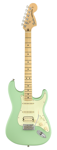 GUITARRA FENDER AM PERFORMER STRATOCASTER HSS MN 011-4922-357 SATIN SEAFOAM GREEN