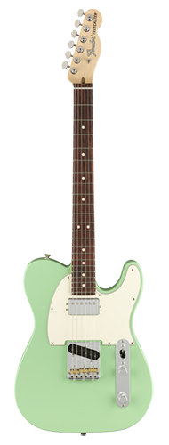 GUITARRA FENDER AM PERFORMER TELECASTER HUM RW 011-5120-357 SATIN SURF GREEN