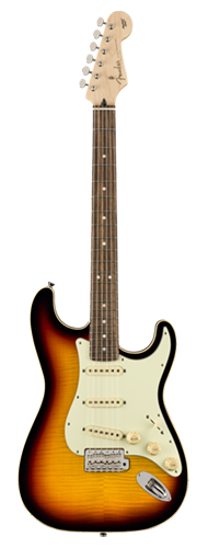 GUITARRA FENDER JAPAN AERODYNE CLASSIC STRATOCASTER LTD FMT RW 556-0052-300 3-COLOR SUNBURST