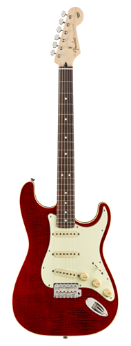 GUITARRA FENDER JAPAN AERODYNE CLASSIC STRATOCASTER LTD FMT RW 556-0052-338 CRIMSON RED