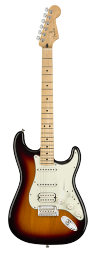 GUITARRA FENDER PLAYER STRATOCASTER HSS MN 014-4522-500 3-COLOR SUNBURST
