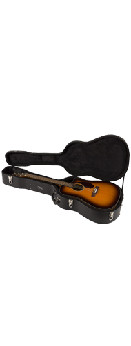 VIOL�O FENDER DREADNOUGHT COM CASE CD-140 SCE 097-0213-332 SUNBURST