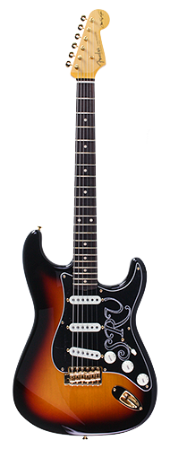GUITARRA FENDER SIG SERIES STEVIE RAY VAUGHAN STRATOCASTER NOS LTD ED 923-5000-863 3-COLOR SB