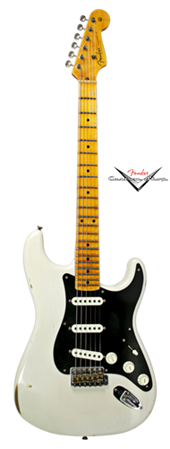 GUITARRA FENDER STRATOCASTER ANCHO POBLANO JOURNEYMAN RELIC LTD EDITION 155-8902-801 WH BLOND