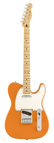 GUITARRA FENDER PLAYER TELECASTER MN 014-5212-582 CAPRI ORANGE
