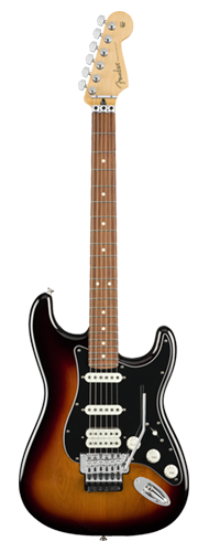 GUITARRA FENDER PLAYER STRATOCASTER FLOYD ROSE HSS PF 114-9403-500 3-COLOR SUNBURST