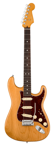 GUITARRA FENDER AM ULTRA STRATOCASTER ROSEWOOD 011-8010-734 AGED NATURAL
