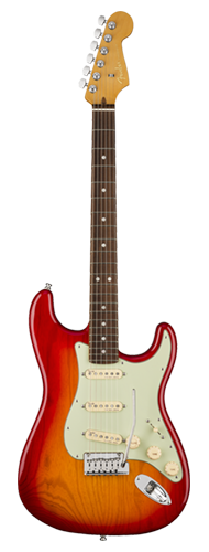 GUITARRA FENDER AM ULTRA STRATOCASTER ROSEWOOD 011-8010-773 PLASMA RED BURST