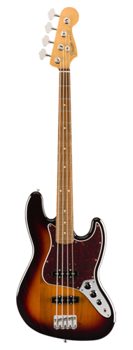 CONTRABAIXO FENDER VINTERA 60S JAZZ BASS PAU FERRO 014-9633-300 3-COLOR SUNBURST