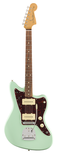 GUITARRA FENDER VINTERA 60S JAZZMASTER MODIFIED PAU FERRO 014-9763-357 SURF GREEN