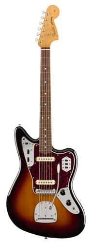 GUITARRA FENDER VINTERA 60S JAGUAR PAU FERRO 014-9773-300 3-COLOR SUNBURST