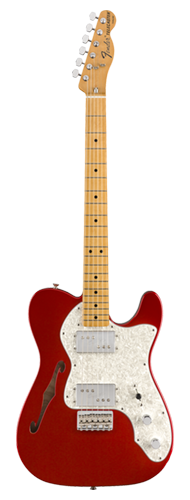 GUITARRA FENDER VINTERA 70S TELE THINLINE MAPLE 014-9742-309 CANDY APPLE RED