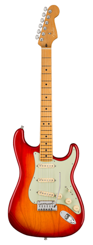 GUITARRA FENDER AM ULTRA STRATOCASTER MAPLE 011-8012-773 PLASMA RED BURST
