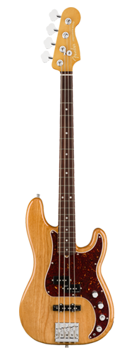 CONTRABAIXO FENDER AM ULTRA PRECISION BASS ROSEWOOD 019-9010-734 AGED NATURAL