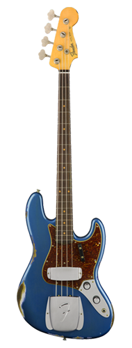 CONTRABAIXO FENDER 61 JAZZ BASS TIME MACHINE HEAVY RELIC 923-5000-857 AGED LAKE PLACID BLUE