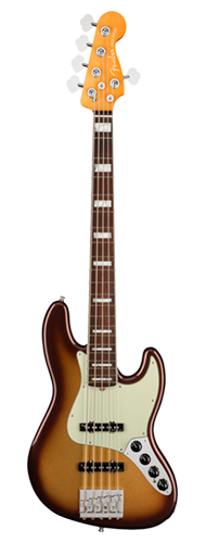 CONTRABAIXO FENDER AM ULTRA JAZZ BASS V ROSEWOOD 019-9030-732 MOCHA BURST