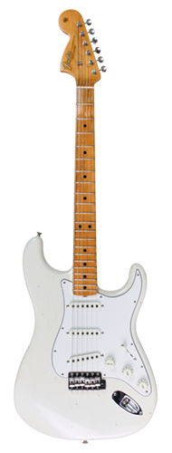 GUITARRA FENDER SIG SERIES JIMI HENDRIX VOODOO CHILD JOURNEYMAN RELIC 151-0682-805 OLYMPIC WH