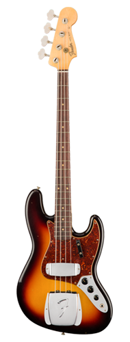 CONTRABAIXO FENDER 62 JAZZ BASS JOURNEYMAN RELIC 159-5960-800 3-COLOR SUNBURST