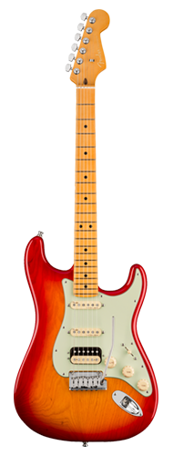 GUITARRA FENDER AM ULTRA STRATOCASTER HSS MAPLE 011-8022-773 PLASMA RED BURST