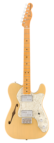 GUITARRA FENDER VINTERA 70S TELE THINLINE MAPLE 014-9742-307 VINTAGE BLONDE