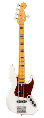CONTRABAIXO FENDER AM ULTRA JAZZ BASS V MAPLE 019-9032-781 ARCTIC PEARL