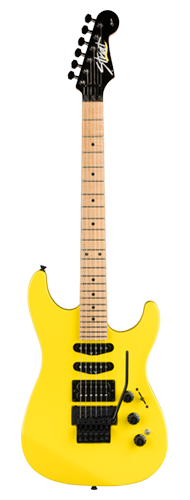 GUITARRA FENDER JAPAN LIMITED EDITION HM STRAT MN 025-1702-374 FROZEN YELLOW