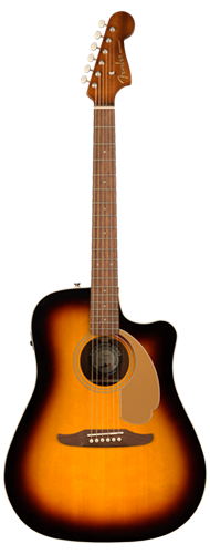 VIOL�O FENDER REDONDO PLAYER 097-0713-003 SUNBURST
