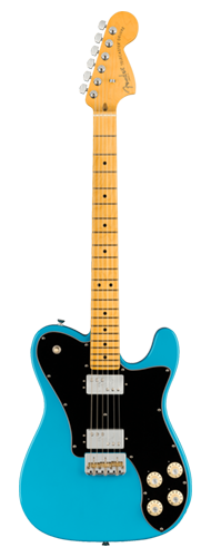 GUITARRA FENDER AM PROFESSIONAL II TELECASTER DELUXE MN 011-3962-719 MIAMI BLUE