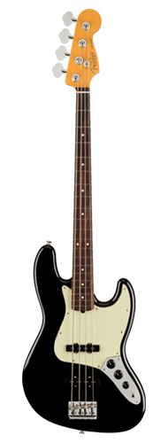 CONTRABAIXO FENDER AM PROFESSIONAL II JAZZ BASS RW 019-3970-706 BLACK