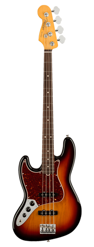 CONTRABAIXO FENDER AM PROFESSIONAL II JAZZ BASS LH ROSEWOOD 019-3980-700 3-COLOR SUNBURST