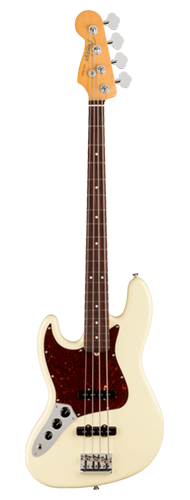 CONTRABAIXO FENDER AM PROFESSIONAL II JAZZ BASS LH ROSEWOOD 019-3980-705 OLYMPIC WHITE