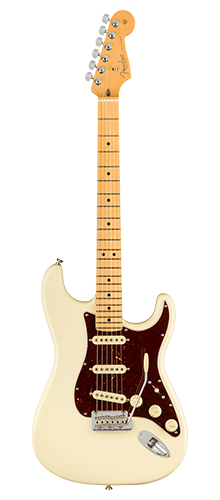 GUITARRA FENDER AM PROFESSIONAL II STRATOCASTER MN 011-3902-705 OLYMPIC WHITE