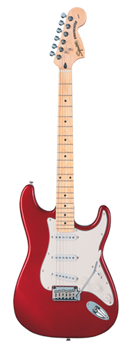 GUITARRA FENDER SQUIER STANDARD STRATOCASTER - 032-1602-509 - CANDY APPLE RED