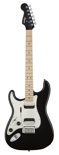 GUITARRA FENDER SQUIER CONTEMPORARY STRATOCASTER HH LH MN - 037-0229-565 - BLACK METALLIC